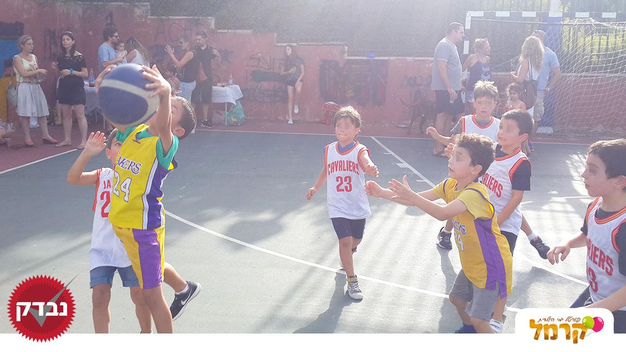 מסיבת כדורסל מדליקה - 073-7584955